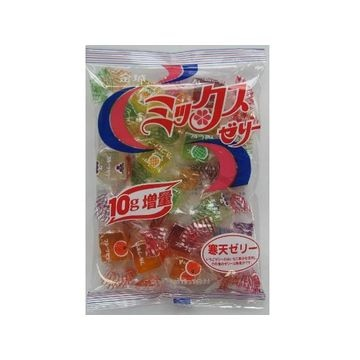 【10個入り】金城製菓 ミックスゼリー 230g