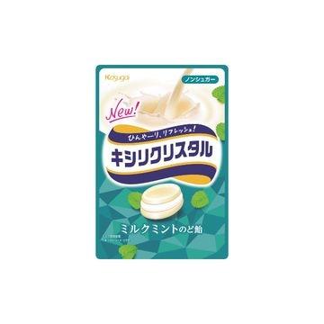 【6個入り】春日井製菓 キシリクリスタル ミルクミントのど飴 71g