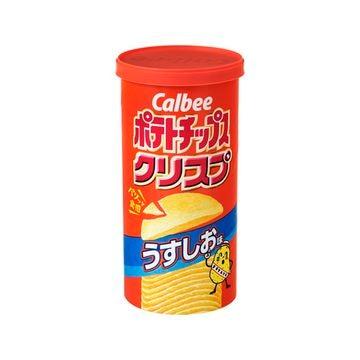 カルビー ポテトチップスクリスプ うすしお 50g x 12個