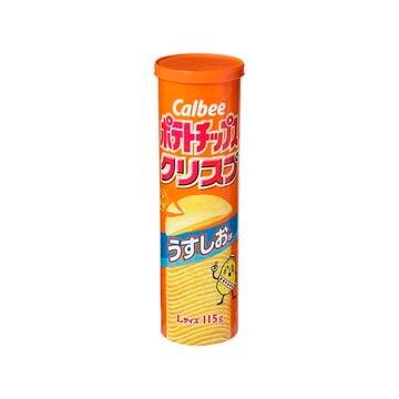 【12個入り】カルビー ポテトチップスクリスプうすしお 115g