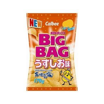 【12個入り】カルビー ポテトチップス BIGBAG うすしお味 170g