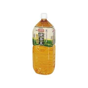 【6個入り】カルピス 健茶王 香ばし緑茶 ペット 2L
