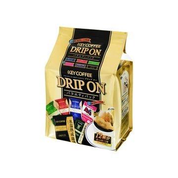 KEY コーヒー ドリップオンバラエティーパック 8g x 12袋 x 6個