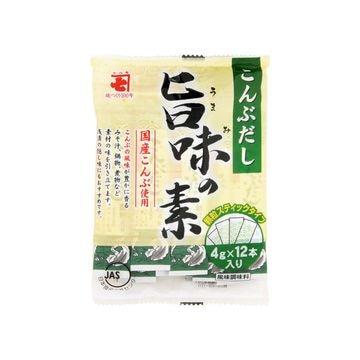 【送料無料】【20個入り】かね七 こんぶだし 旨味の素スティック 4gX12本