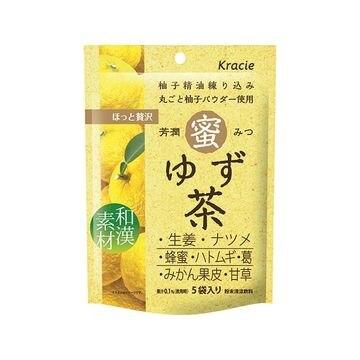【5個入り】クラシエ 芳潤蜜ゆず茶 15.4X5