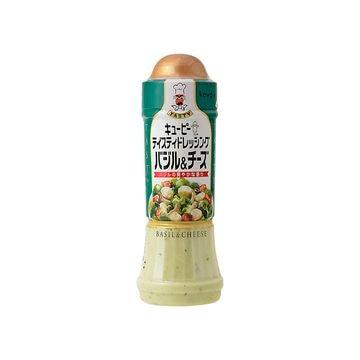 【12個入り】QP テイスティドレ バジル&チーズ 210ml
