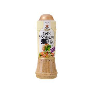 【12個入り】QP テイスティドレ胡麻こく味ピーナッツ入 210ml