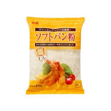 【10個入り】KK ソフトパン粉 270G