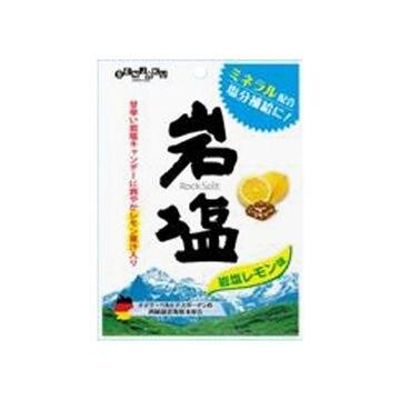【送料無料】【6個入り】扇雀飴本舗 岩塩キャンデーレモン味 85g