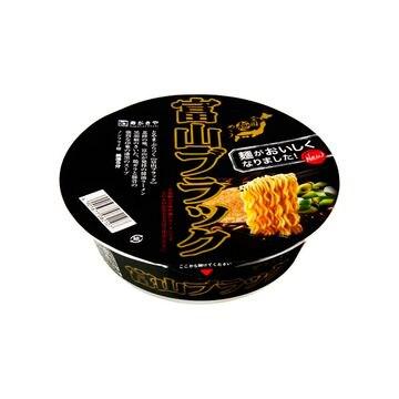【12個入り】寿がきや 全国麺めぐり富山ブラックラーメン カップ 108g