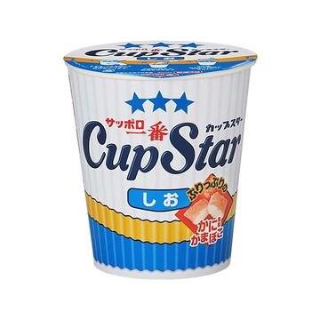【12個入り】サッポロ一番 カップスター しお カップ 77g