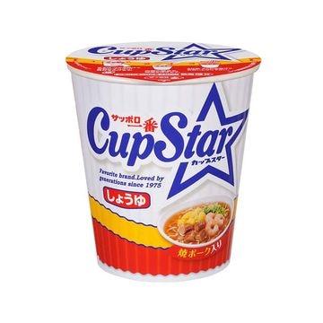 【12個入り】サッポロ一番 カップスター しょうゆ カップ 71g