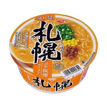 サッポロ一番 旅麺 札幌味噌ラーメン カップ 99g x 12個