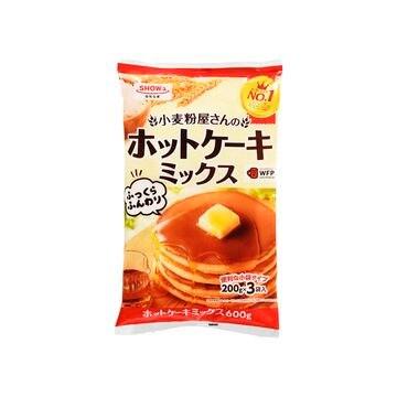 【10個入り】昭和 小麦粉屋さんのホットケーキミックス 600g