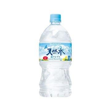 【12個入り】サントリー 天然水 南アルプス ペット 1L
