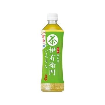 【24個入り】サントリー 緑茶 伊右衛門 手売用 ペット 525ml