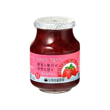 【6個入り】スドーN信州須藤農園100%ストロベリー 430g