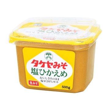 【10個入り】タケヤ味噌 塩ひかえめ カップ 500g