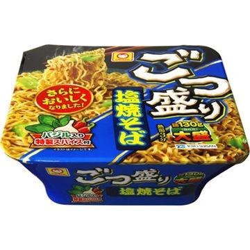 【12個入り】マルちゃん ごつ盛り塩焼そば カップ 156g