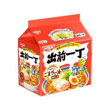 【6個入り】日清食品 出前一丁 5食パック 102gX5