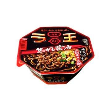 【12個入り】日清食品 ラ王 焦がし醤油 タテカップ 117g