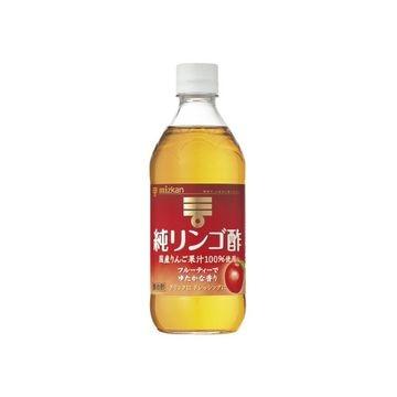 【12個入り】ミツカン 純りんご酢 500ml