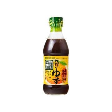 【10個入り】ミツカン 特撰ぽんずかおりの蔵丸搾りゆず 360ml