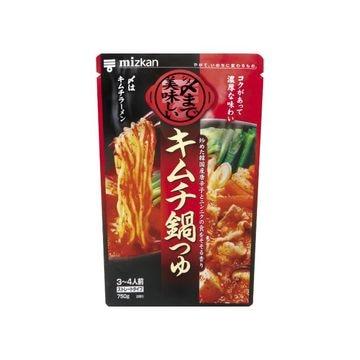 ミツカン 〆まで美味しいキムチ鍋つゆST 750g x 12個
