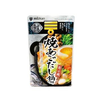 【12個入り】ミツカン 〆まで美味しい焼あご鍋つゆ 750g