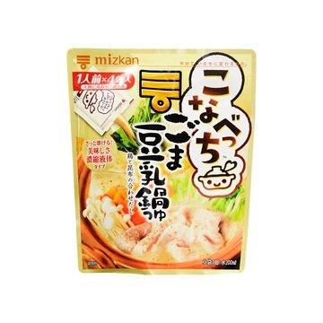 【10個入り】ミツカン こなべっち ごま豆乳鍋つゆ 36gX4袋