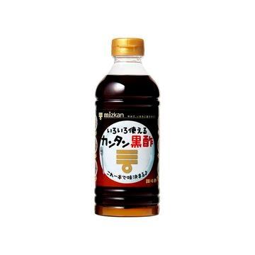 【送料無料】【12個入り】ミツカン カンタン黒酢 500ml