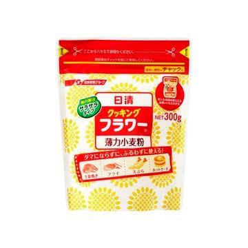 【12個入り】日清フーズ クッキングフラワーチャック付 300g