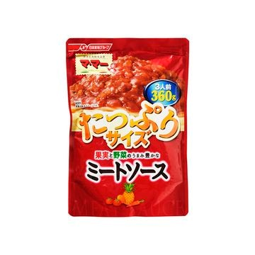 【5個入り】ママー果実と野菜うまみ豊かなミートソース 360g