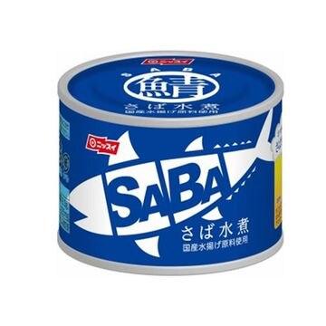 【24個入り】ニッスイ スルっとSABA さば水煮 150g