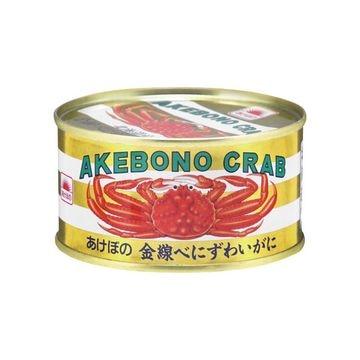 【6個入り】あけぼの 金線紅ずわいがに T2号缶
