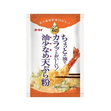 【10個入り】オーマイ 油少なめ天ぷら粉 300g