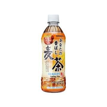 サンガリア あなたの香ばし麦茶 500mL x 24個