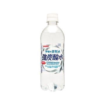 【24個入り】サンガリア 伊賀の天然水強炭酸水 ペット 500ml