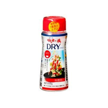 【送料無料】【5個入り】伯方の塩 DRY(ボトル) 200g