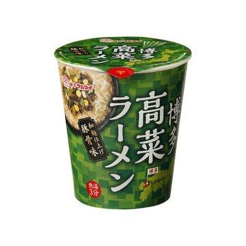 【12個入り】マルタイ 高菜ラーメン 縦型 カップ 62g