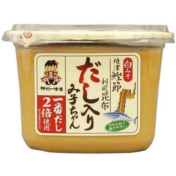 【6個入り】神州一味噌 だし入りみ子ちゃん白 カップ 850g