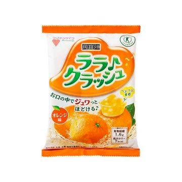 【12個入り】マンナンライフ 蒟蒻畑 ララクラッシュ オレンジ味 24gX8個