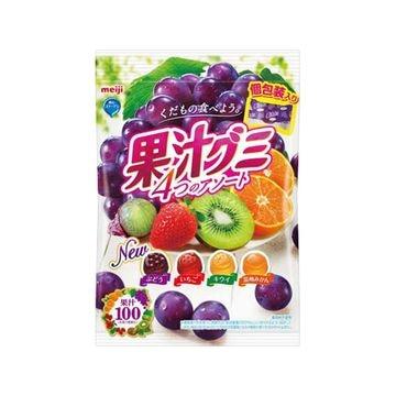 【送料無料】【6個入り】明治 果汁グミアソート個包装 90g