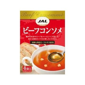 【5個入り】明治 JALスープ ビーフコンソメ 4袋