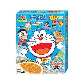 【10個入り】丸美屋 ドラえもんカレーポーク&野菜甘口 145g
