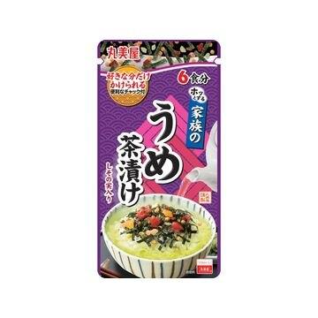 【10個入り】丸美屋 家族のうめ茶漬け 大袋 40g