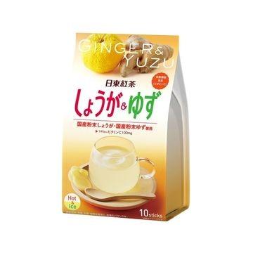 【6個入り】日東紅茶 しょうが&ゆず 10gX10