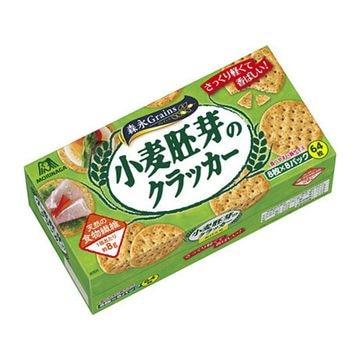 【送料無料】【4個入り】森永製菓 小麦胚芽のクラッカー 64枚