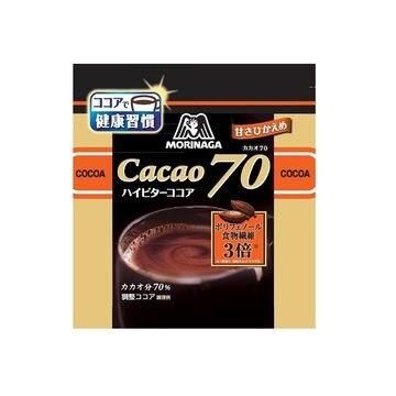 【12個入り】森永 森永ココア カカオ70 200g