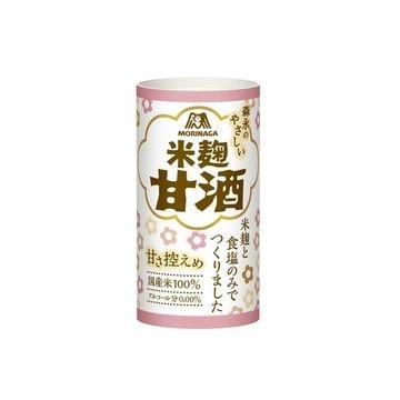 【30個入り】森永 森永のやさしい米麹甘酒 紙パック 125ml